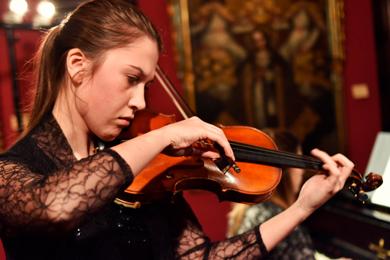 Victoria Warzyca (Violín)