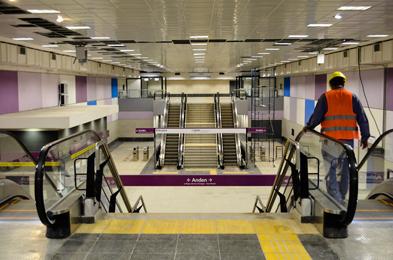 La semana próxima se inagura la extensión de la línea E de subterráneos