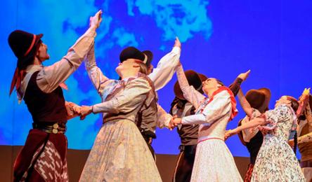 El Ballet Folklórico Nacional festeja el 25 de mayo