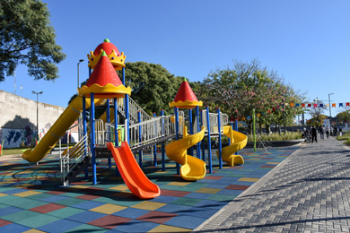 Plaza Barbieri de Parque Patricios