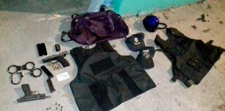 Atraparon a la banda que con disfraces de policías robaba viviendas
