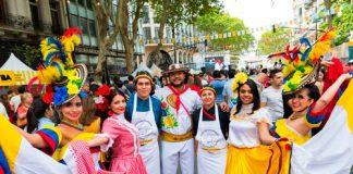 Sábado 27 de julio BA Celebra a Colombia 2019