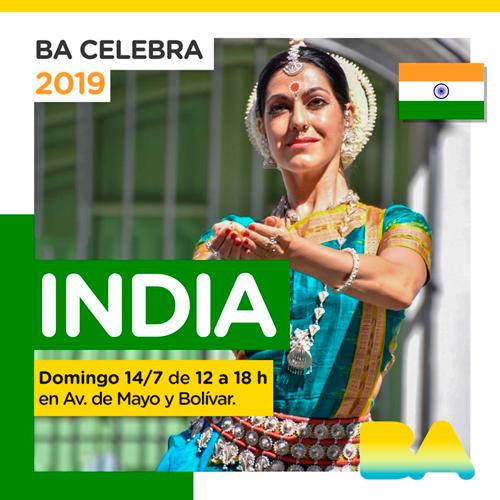 El 14 de julio BA Celebra India