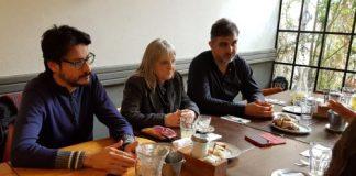 Precandidatos a Comuneros por la Comuna 15 se reunieron con los medios
