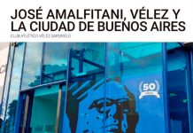 """""""José Amalfitani, Vélez y la Ciudad de Buenos Aires"""" en la Legislatura"""