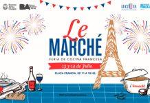 Le Marche festeja la Revolución Francesa en la Plaza Francia el 13 y 14 de julio