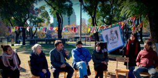 Al 374º aniversario de Chacarita lo celebraron los vecinos en el Parque los Andes