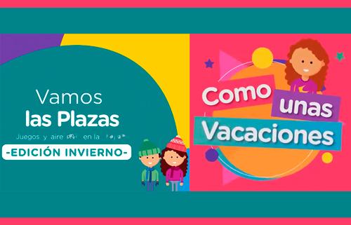 """""""Vamos las Plazas"""" y """"Como unas vacaciones"""" gratis en la Ciudad"""