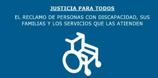 #NoAlAjusteEnDiscapacidad Nueva movilización