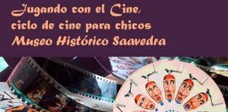 """El Museo Saavedra presenta """"Jugando con el Cine"""""""