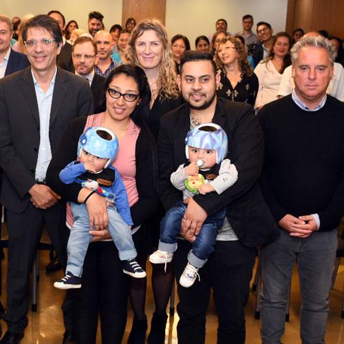 Distinción a la Fundación Hospitalaria por división de bebés siameses