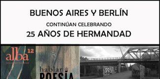 """""""Topografías literarias"""" a 25 años de la hermandad entre Buenos Aires y Berlín"""