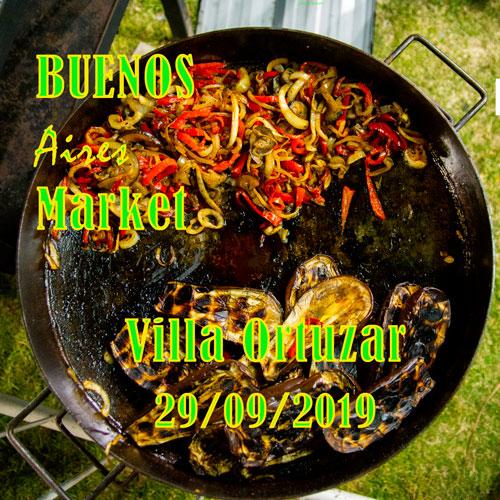 Villa Ortúzar recibirá al Buenos Aires Market el 29 de septiembre