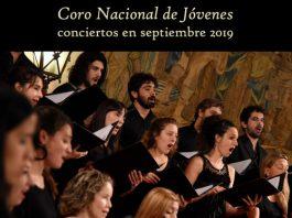 Conciertos del Coro Nacional de Jóvenes en septiembre 2019