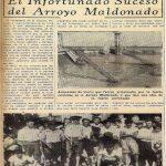 infortunado suceso en el Arroyo Maldonado