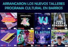 ARRANCARON LOS NUEVOS TALLERES DEL PROGRAMA CULTURAL EN BARRIOS