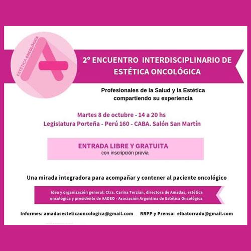 2ª Encuentro Interdisciplinario de Estética Oncológica en la Legislatura
