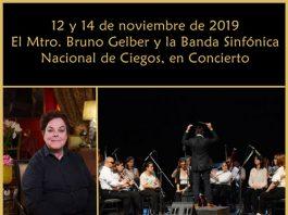 Concierto del Maestro Bruno Gelber y la Banda Sinfónica Nacional de Ciegos