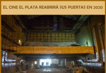 """El """"Cine El Plata"""" en obra para reabrir sus puertas en 2020"""