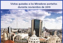 Miradores porteños - Visitas en noviembre de 2019