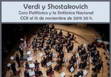 Orquesta Sinfónica Nacional junto al Coro Polifónico Nacional en el CCK