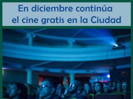 El Cine gratis en la Ciudad continúa en diciembre 2019