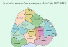 Juraron los integrantes de las Juntas Comunales por el período 2020-2023