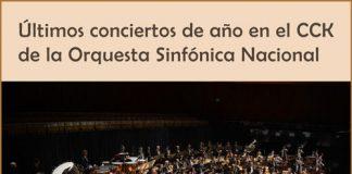 La Orquesta Sinfónica Nacional finaliza el 2019 en el CCK