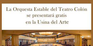 La Orquesta Estable del Teatro Colón en Concierto en la Usina del Arte