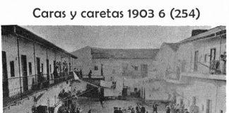 Patio del conventillo de Piedras 1268 que en 1902 tenía 104 piezas donde vivían más de 500 personas.