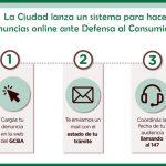La Ciudad lanza un sistema para hacer denuncias online ante Defensa al Consumidor