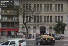 Facultad de Filosofía y Letras, foto street view 2013